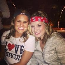 Megan and Alyssa live at Game 6 of ALCS!