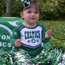 Celtics Superfan - Diana's beautiful niece!