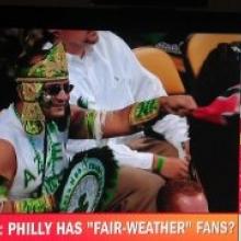 Aztec Gino captured live on ESPN's PTI!