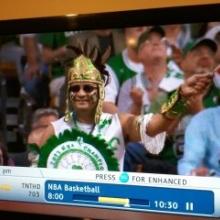 Aztec Gino captured live on TNT!