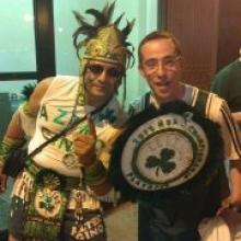 Aztec Gino live with Tom aka Tommy Gun!